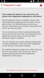 Touch ID Screen